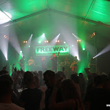 Top 100 coverband Freeway Dorpsfeest Hallum