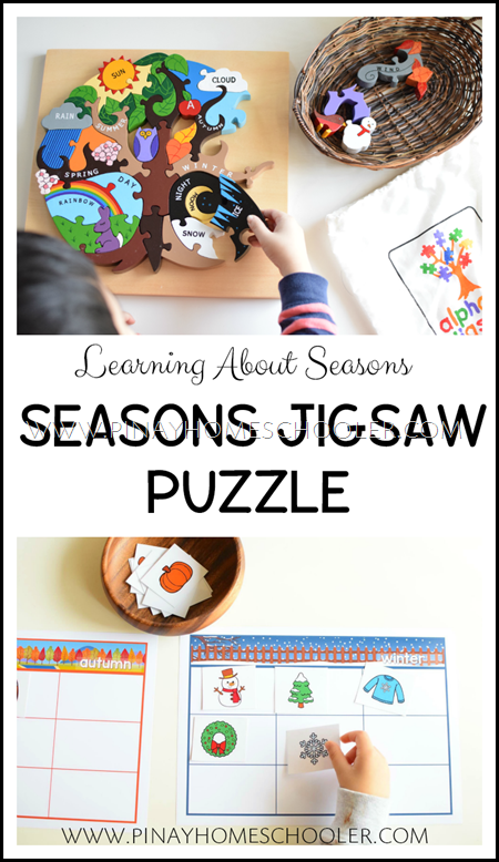 Jigsaw Seasons Puzzle