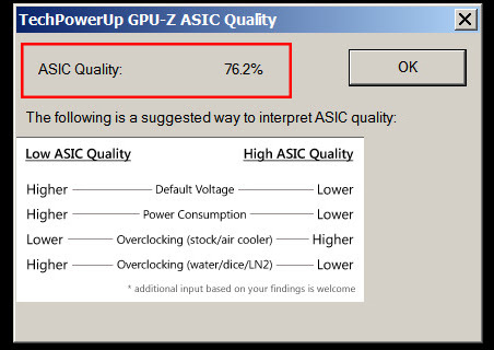 GPU Z ASIC Quality ASUS GeForce GTX 970 Strix ASUS GeForce GTX 970 [Strix, OC Edition, DirectCU II, 0dB]