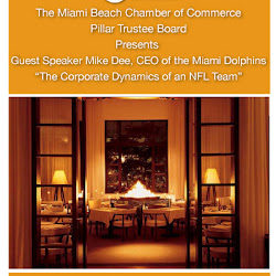 Pillar Breakfast with Mike Dee at the Delano