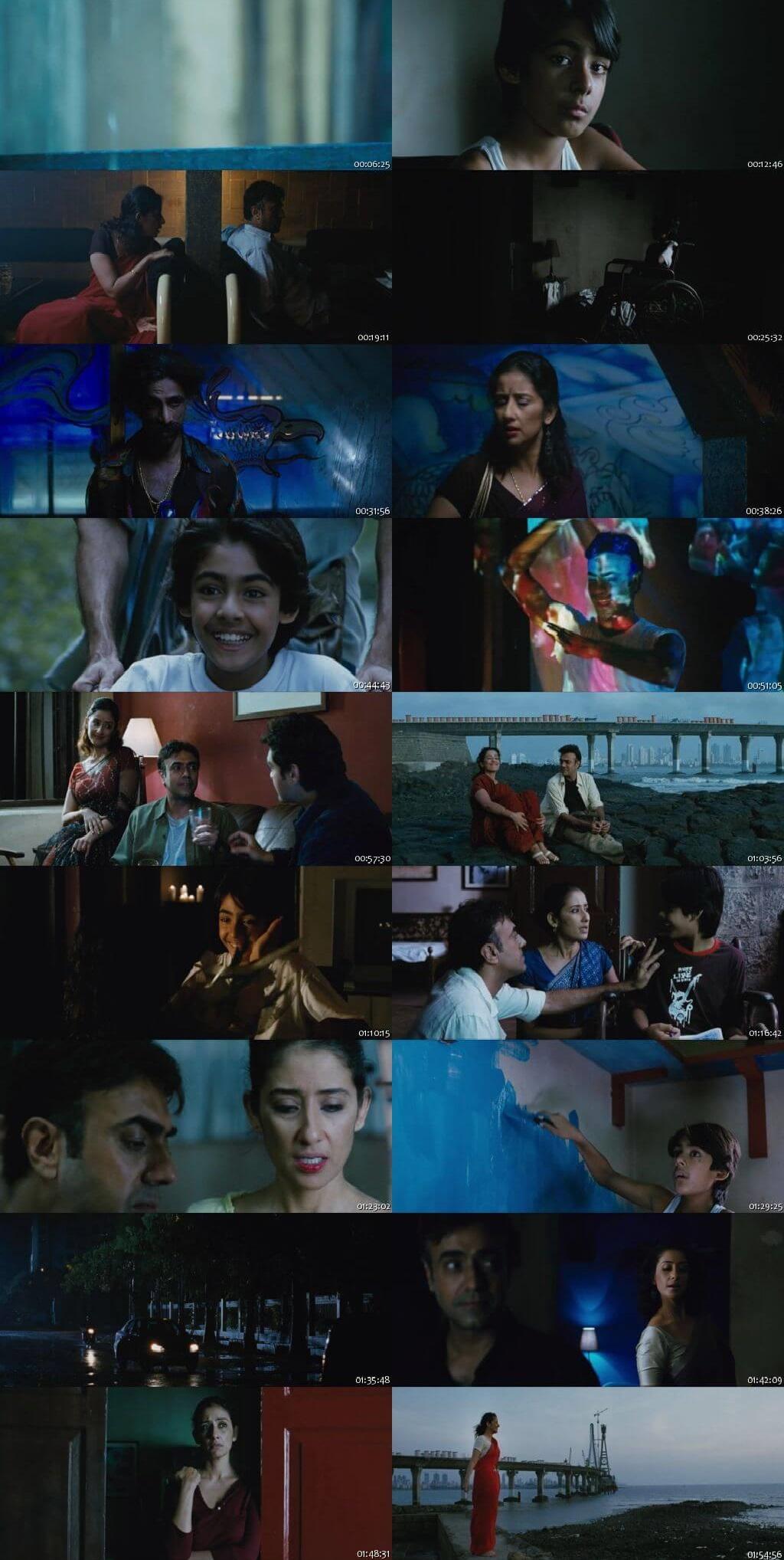 Screen Shot Of Do Paise Ki Dhoop, Chaar Aane Ki Baarish 2009 300MB HDRip 480P Full Hindi Movie Watch Online Free Download