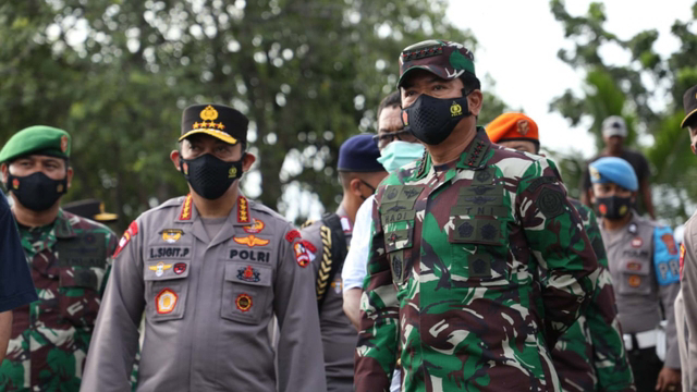 Kembali Kunjungi Papua, Panglima dan Kapolri Beri Arahan Ke Prajurit TNI-Polri