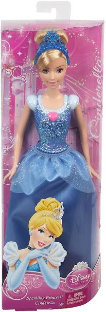 Sản phẩm Búp bê nàng Lọ Lem Cinderella Disney Princess Mattel BBM21