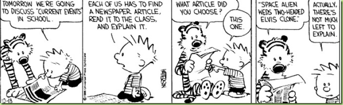 calvin hobbes not much left to explain alien