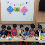 Makar Sankranti Celebration by Nursery Afternoon Section at Witty World, Chikoowadi (2017-18)