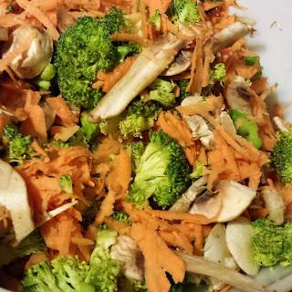 Sweet Potato Broccoli Soup.