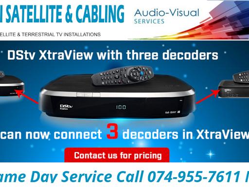 DSTV Installer Mitchell's Plain - Audio Visual Equipment