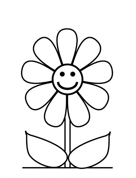 Sunflower Coloring Pages For Kids With For Kids Printable Sunflower Coloring