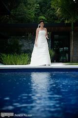 Foto 0427. Marcadores: 29/10/2010, Casamento Fabiana e Guilherme, Fotos de Vestido, Glorinha Pires Rebelo, Rio de Janeiro, Vestido, Vestido de Noiva