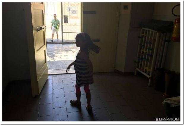 ultimo giorno di asilo cecilia