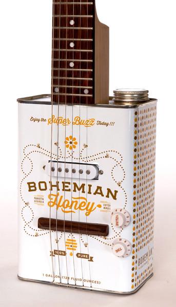 *油鐵桶再生電吉他:Bohemian Guitars 回收手作之美! 1