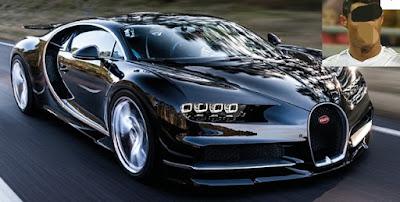 Bugatti Chiron cristaino Ronaldo