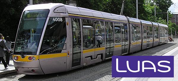 Tramway à Dublin