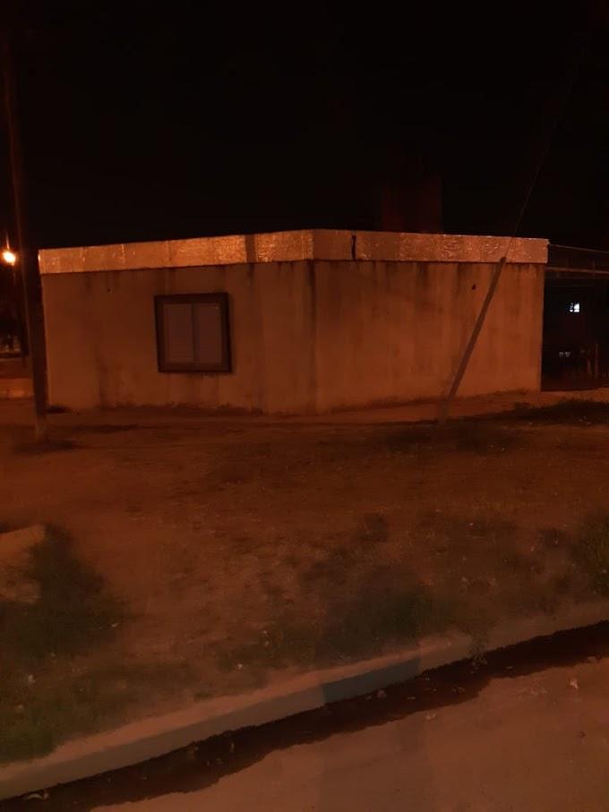 Continúan las balaceras: Una casa baleada en calle Rosario al 2500