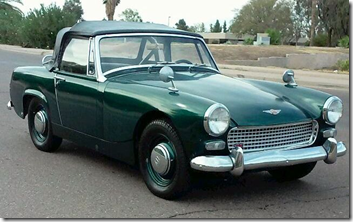 1965 Austin Healy Sprite (mine did not look as good as this one)