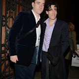WWW.ENTSIMAGES.COM -    Matthew Macfadyen and Stephen Mangan   at      Perfect Nonsense - press night at Duke of York's Theatre, St Martin's Lane, London November 12th 2013                                                Photo Mobis Photos/OIC 0203 174 1069