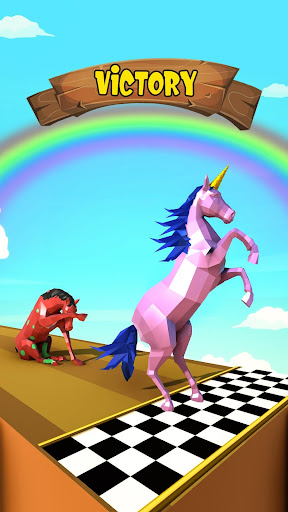 Horse Run Fun Race 3D Games apkpoly screenshots 3