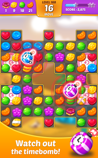 Lollipop: Sweet Taste Match 3 apkpoly screenshots 4