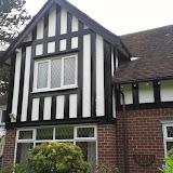 Tudor house painting