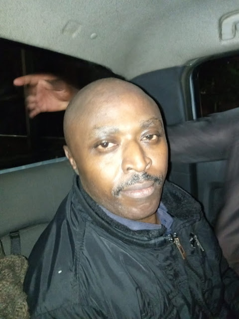 Breaking news:Mugo wa wairimu arrested,He was hiding in the most unlikely place