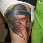 Photo - Johnny Depp Tattoos Pictures