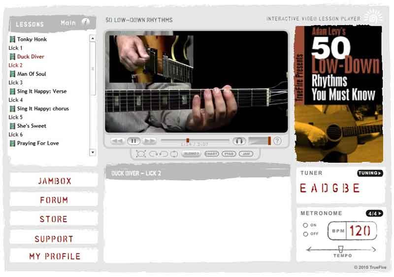 Adam Levy - 50 Low-Down Rhythms You Must Know