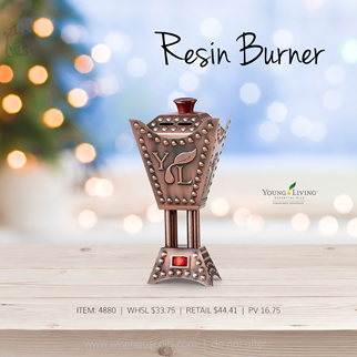 Young Living Gift Ideas Holiday Catalog 2018 Resin Burner A