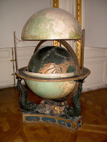 Study globe, The Dauphin's Apartments