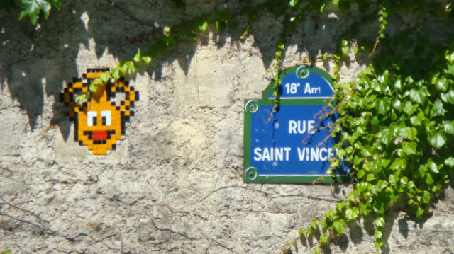 Space Invaders, Montmartre, París, Elisa N, Blog de Viajes, Lifestyle, Travel