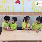Friendship Day Celebration by Nursery Section at Witty World Bangur Nagar (2018-2019)