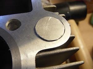 FIカブのシリンダー流用加工(オイルリターン経路の加工)