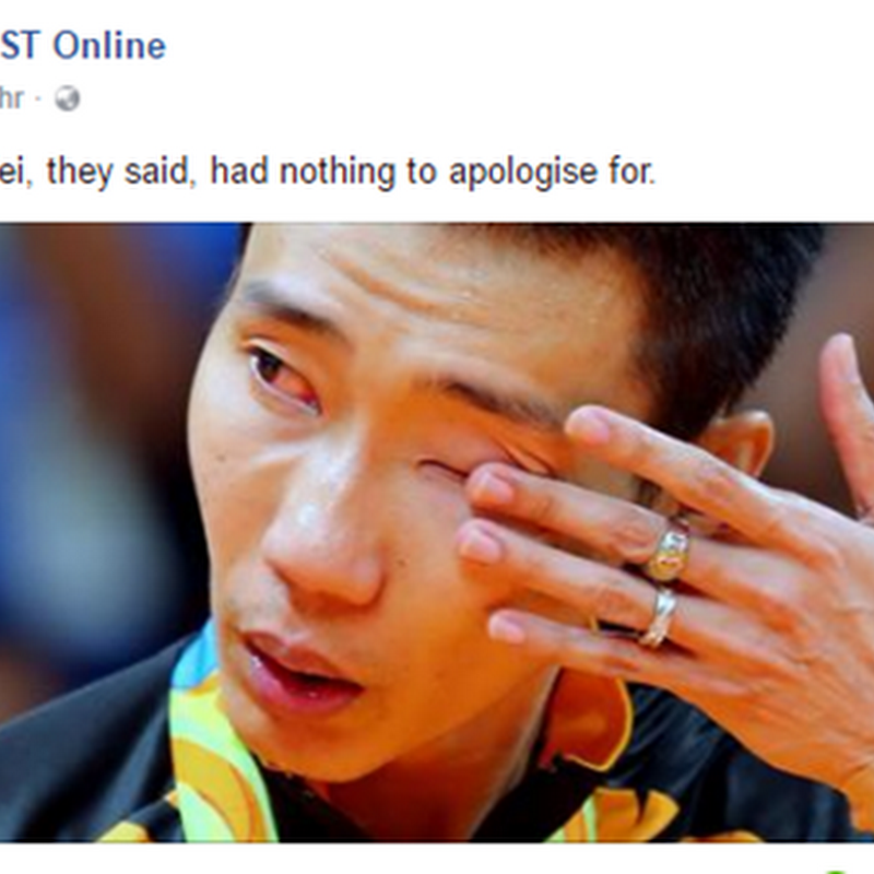 Dato' Lee Chong Wei , wira sejati negara !