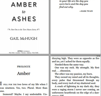 read Amber to ashes