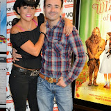 WWW.ENTSIMAGES.COM -      Caroline Monk and Joe McFadden at     The Wizard of Oz in IMAX 3D - charity film screening at The Empire Cinema London September 14th 2014Chairty film screening of classic film in aid of children's charity Variety.                                                 Photo Mobis Photos/OIC 0203 174 1069
