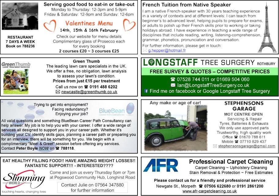Local Business - Longhorsley Tree