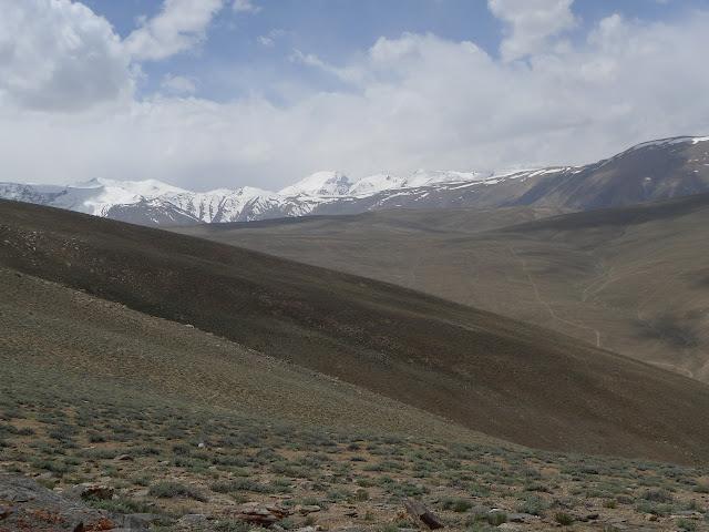 Barchid, au sud de Jawshangoz (Pamir). 13 juillet 2009. Photo : Jean-François Charmeux