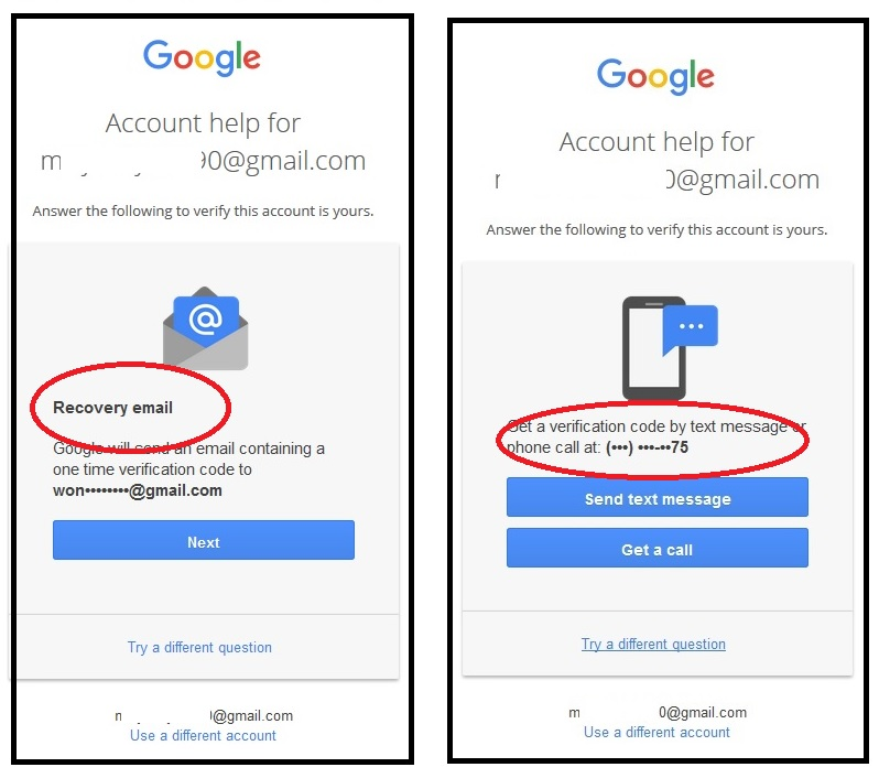 how to change phone number on google account