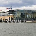 Casino et lac