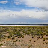 Salar a caminho de Malargue, Argentina