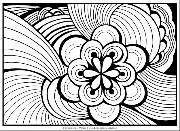 Amazing Printable Abstract Adult Coloring Pages With Word Coloring Pages  And Sight Word Coloring Pages Kindergarten