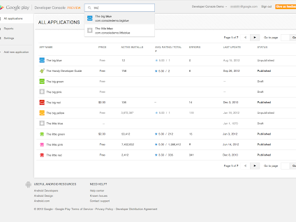 New google play developer console earlier this year at google i o we demoed - Android google developer console ...