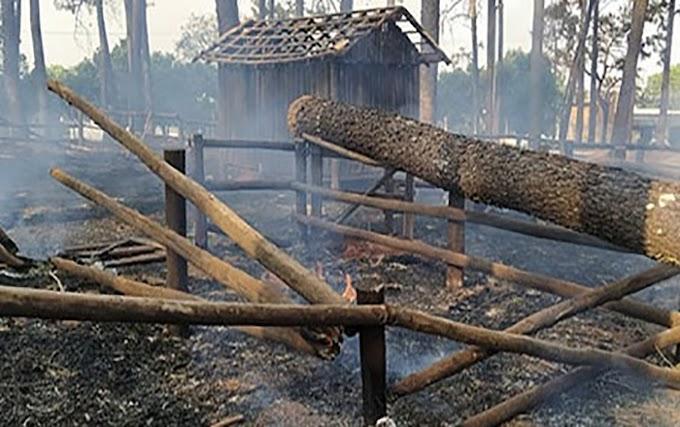"""ILHA SOLTEIRA """"Cidade da Criança"""" fica parcialmente destruída após incêndio"""