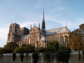 Notre Dame de Paris, from the south