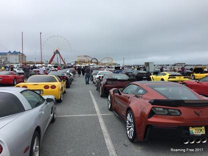 Lots of Corvettes
