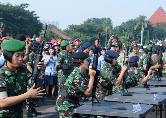 500 Prajurit Yon Armed 12 Siap Bertugas Di daerah rawan konflik