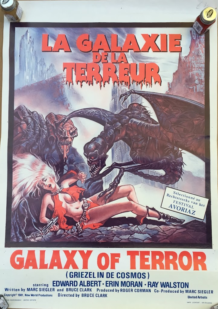 Galaxy of Terror Belgian14x20 #1