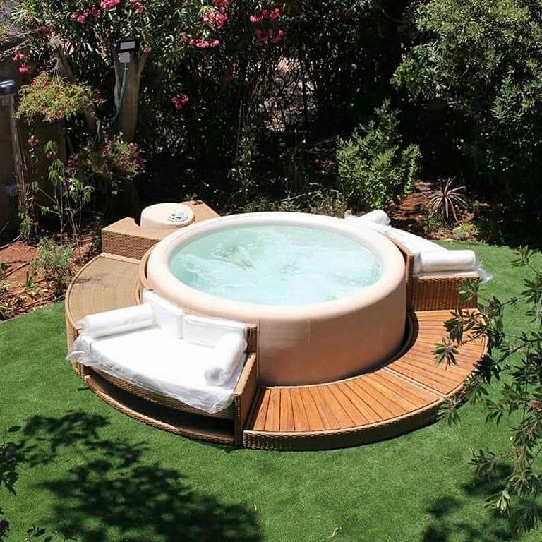 Softub whirlpools - Pool holzumrandung selber bauen ...