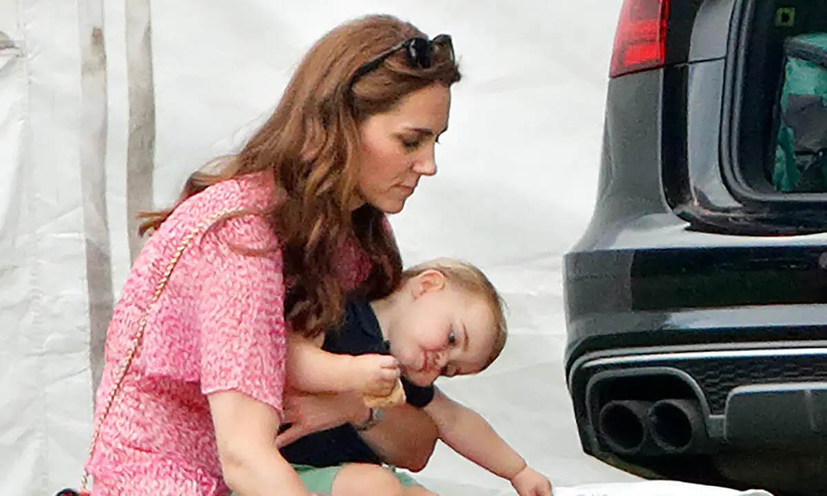 Kate Middleton and Prince Louis Spotted on Fun Cycling date Outside Kensington Palace Home