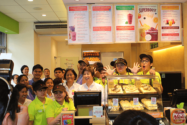 Jamba Juice Now Blending in Tomas Morato