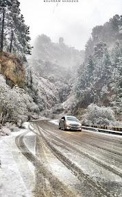 Near Azizabad Abbottabad
